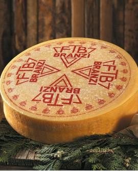 Branzi formaggio tipico val brembana 11Kg stagionatura 90gg - Gildo Formaggi