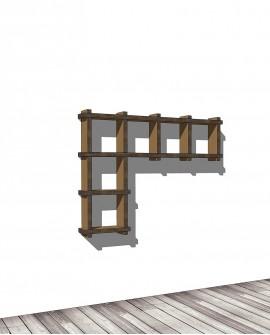 Librerie Sea L small - Nardi Mobili in Cartone
