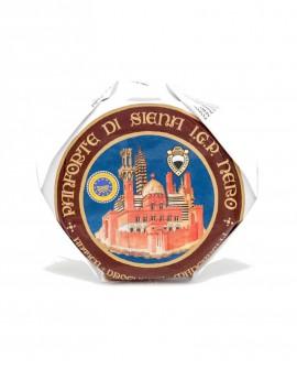 Panforte Nero di Siena o Panpepato IGP 450g - Antica Drogheria Manganelli Siena