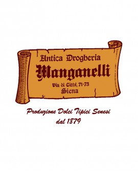 Panforte Fiorito Ruota 4 Kg - Antica Drogheria Manganelli Siena