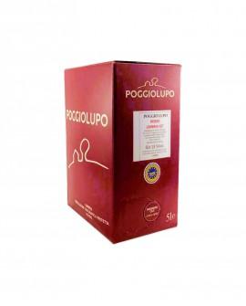 BAG-IN-BOX Umbria Rosso IGP - vino bianco 5 lt - Cantina PoggioLupo