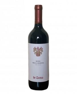 Rosso della Badessa - vino rosso 0,75 lt - Scanzorosciate dal 1894 - Cantina De Toma Wine