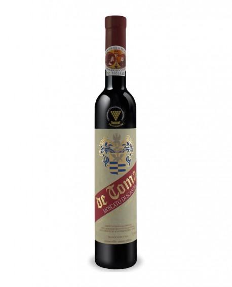 Moscato di Scanzo Docg - Passito rosso 0,500 lt - Scanzorosciate dal 1894 - Cantina De Toma Wine