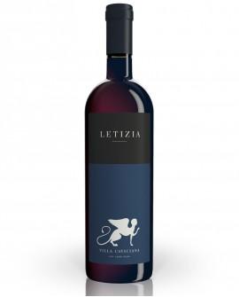 Rosso LETIZIA - IGT Lazio Rosso - Cabernet Franc, Cabernet Sauvignon e Merlot - vino Biologico 0,75 lt - Cantina Villa Caviciana