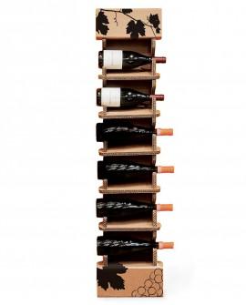 Portabottiglie Upia 01 - Nardi Mobili in Cartone