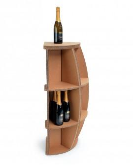 Portabottiglie Rebbio 90 - Nardi Mobili in Cartone
