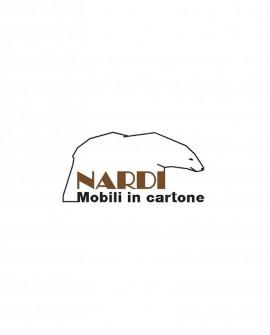 Portabottiglie MDF per Rebbio 180 - Nardi Mobili in Cartone