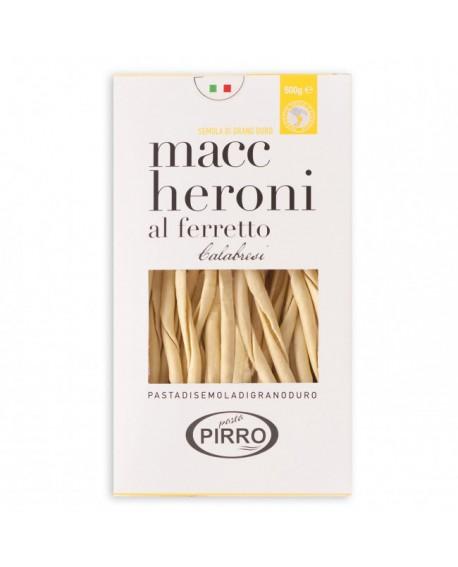 Maccheroni al ferretto pasta di semola di grano duro 500 g - Pastificio Pirro