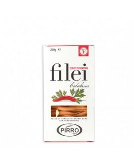 Filei Piccanti pasta di semola di grano duro 250 g - Pastificio Pirro