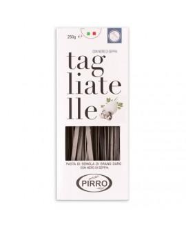Tagliatelle Nero di Seppia pasta di semola di grano duro 250 g - Pastificio Pirro