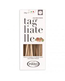 Tagliatelle Funghi Porcini pasta di semola di grano duro 250 g - Pastificio Pirro