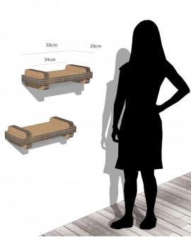 Espositore Sea Basic mensola a muro - Nardi Mobili in Cartone