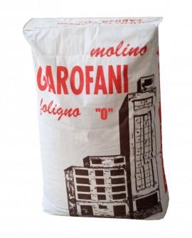 Farina tipo 0 grano tenero italiano - sacco da kg 25 - Molino Garofani
