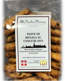 Paste di Meliga al cioccolato - 250g - Pasticceria Alla Vecchia Maniera