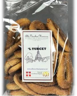 L TURCET biscotto - 250g - Pasticceria Alla Vecchia Maniera