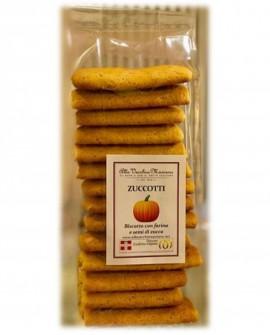ZUCCOTTI, biscotto con farina e semi di zucca - 150g - Pasticceria Alla Vecchia Maniera