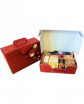Valigetta Regalo Natale - n.5 specialità enogastronomiche di qualità - Gustox Confezioni Regalo