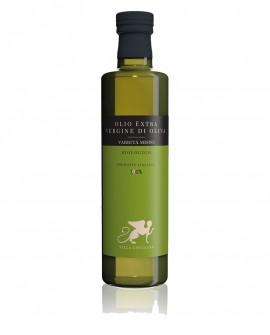Olio extra vergine d'oliva varietà MISTO Biologico 100% Italiano - bottiglia 500 ml - Olio Tuscia Villa Caviciana