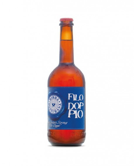 Birra Filo Doppio - birra chiara strong - 75 cl - Birrificio Pasturana
