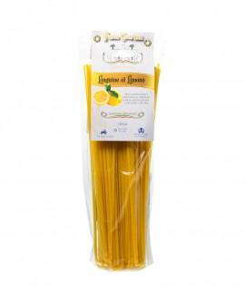 Linguine al Limone 250g - pasta di semola di grano duro italiano trafilata al bronzo - Pastificio il Mulino di Puglia