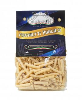 Fischietti pugliesi artigianali 500g - pasta di semola di grano duro italiano trafilata al bronzo-Pastificio il Mulino di Puglia