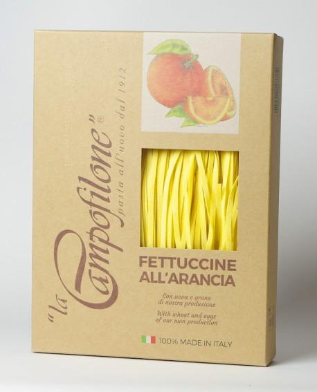 Fettuccine all'uovo all'arancia 250g - La Campofilone