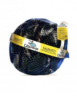 Cozze La Castrense - fresco vivo in retino 1Kg - scadenza 3 giorni - Pescheria Marevivo Castro