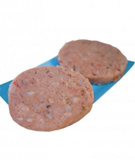 Fish Burger di Pesce Spada 100g - Congelato - 3Kg cartone sfusi 30 pezzi - scadenza 12 mesi - Pescheria Marevivo Castro