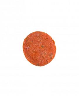 Fish Burger di Salmone 100g - Congelato - 3Kg cartone sfusi 30 pezzi - scadenza 12 mesi - Pescheria Marevivo Castro