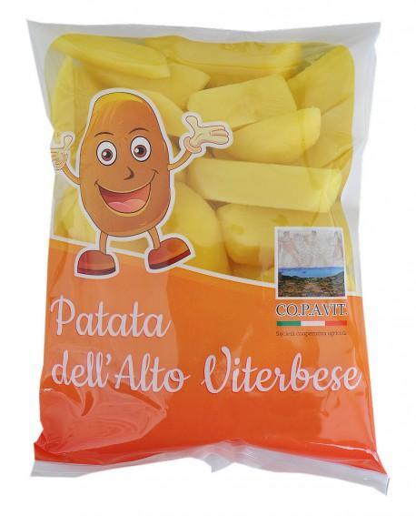 Patata a Spicchio dell'Alto Viterbese - fresca in ATM - busta 5kg - scadenza 10 giorni - Copavit