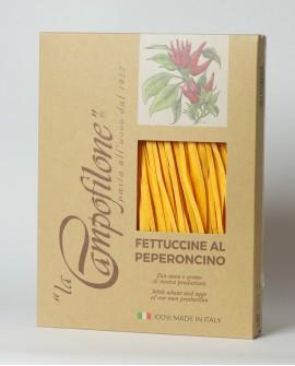 Fettuccine all'uovo al peperoncino 250g - La Campofilone