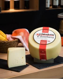 Caciottone della Castellana - formaggio con latte misto semi saporito - 3,8Kg - stagionatura 45 giorni - Formaggi Chiodetti