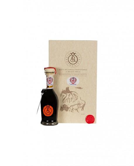 Aceto Balsamico Tradizionale di Reggio Emilia DOP - 100 ml - ARAGOSTA - con astuccio e dosatore - Acetaia Malpighi