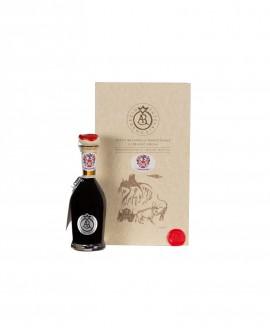 Aceto Balsamico Tradizionale di Reggio Emilia DOP - 100 ml - ARGENTO - con astuccio e dosatore - Acetaia Malpighi