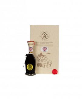 Aceto Balsamico Tradizionale di Reggio Emilia DOP - 100 ml - ORO - con astuccio e dosatore - Acetaia Malpighi