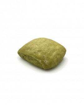 Ciabatta agli Spinaci surgelata 30g -cartone sfuso n.184 pezzi -Pane Altamura di semola rimacinata di grano duro - Mininni Buene