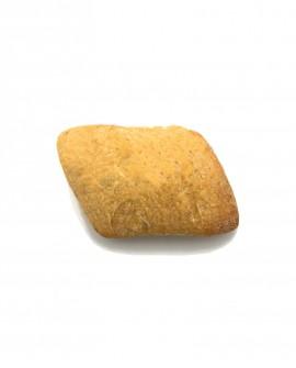 Diamante al Peperoncino surgelato 30g - cartone sfuso n.184 pezzi - Pane di Altamura di semola di grano duro - Mininni Buene