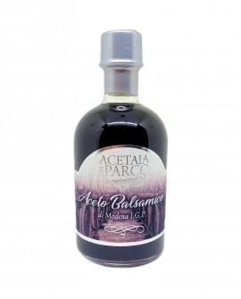 Aceto balsamico di Modena IGP - bottiglia 250 ml - artigianale linea Argento - Acetaia del Parco