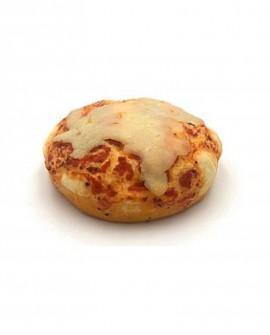 Pizzetta Margherita surgelata di semola rimacinata di grano duro - 13cm tonda 140g - cartone sfuso n.44 pezzi - Mininni Buene