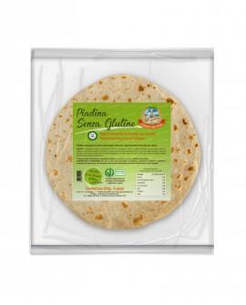 Piada Senza Glutine fresca in ATM 50gg - 20cm tonda 125g - confezione 2 pezzi - Cartone 10 pezzi - L'Angolo della Piada