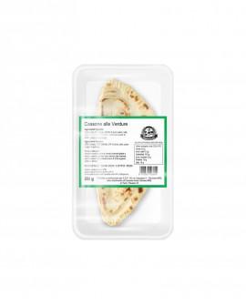 Cassone o Calzone con verdure - fresco in ATM 50gg - 200g - confezione 1 pezzo - Cartone 10 pezzi - L'Angolo della Piada