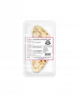 Cassone o Calzone mozzarella e prosciutto cotto - ATM 50gg - 200g - confezione 1 pezzo - Cartone 10 pezzi - L'Angolo della Piada