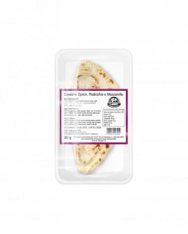 Cassone o Calzone mozzarella, speck e radicchio - ATM 50gg - 200g - confezione 1 pezzo - Cartone 10 pezzi - L'Angolo della Piada
