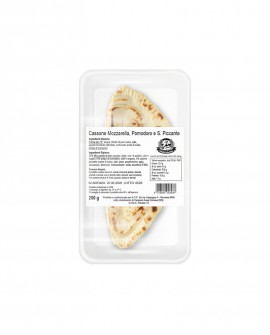 Cassone o Calzone mozzarella, pomodoro e salame piccante - ATM 50gg - 200g - Cartone 10 pezzi - L'Angolo della Piada della P