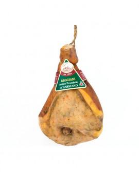 Prosciutto di Bassiano Classico con Osso 8,5 Kg - stagionatura 15 mesi - Reggiani