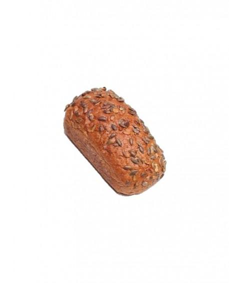 Pane con semi di Zucca parzialmente cotto - 500g surgelato - Cartone 10 pezzi - pane alpino - Panificio Trenker Sudtirol