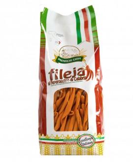 Fileja al Peperoncino di Calabria pasta artigianale di semola di grano duro - 500g - Pastificio Gioia