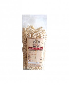 Lorighittas Tradizionali di semola di grano duro fatta a mano - busta 500g - Pastificio SA LORIGHITTA LONGA