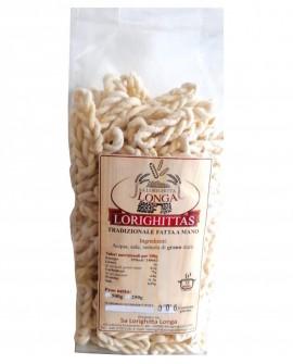 Lorighittas Tradizionali di semola di grano duro fatta a mano - sfuso in busta 2,5 kg - Pastificio SA LORIGHITTA LONGA