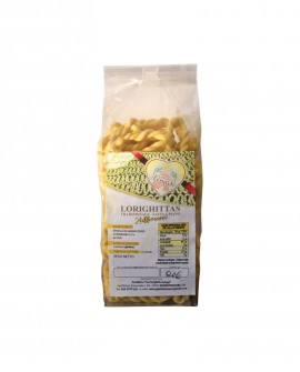Lorighittas allo Zafferano di semola di grano duro fatta a mano - busta 500g - Pastificio SA LORIGHITTA LONGA